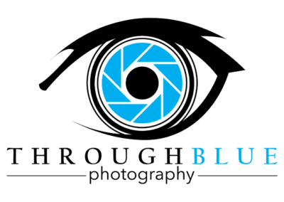 Through Blue Logo